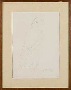 KAIN TAPPER, drawing, signed and dated -78.