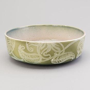 HEINI RIITAHUHTA, a porcelain bowl, 'Suomi kukka' signed Heini Riitahuhta 2007, Suomi.