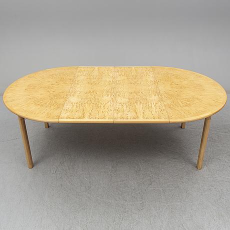 A 'svitjod' dining table by göran malmvall for karl andersson & söner