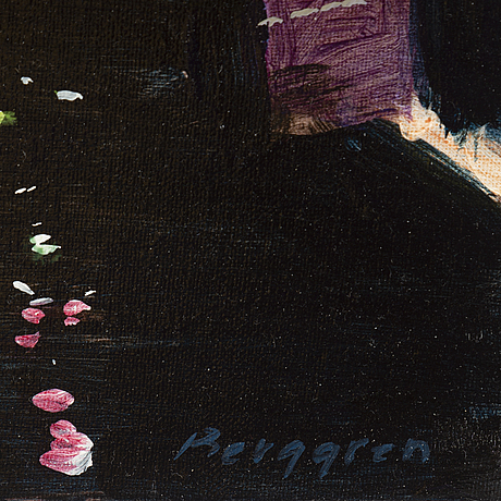 Kalle berggren, canvas, signed and dated 2013 on verso.