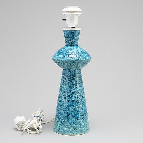 A gunnar nylund table lamp, rörstrand