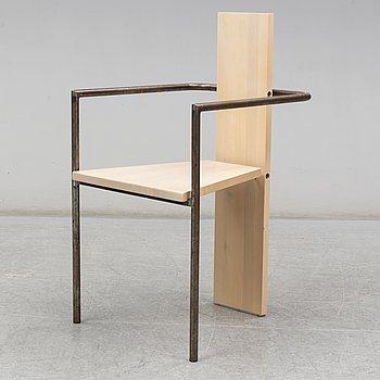 JONAS BOHLIN, a 'Concrete' arm chair, Källemo.