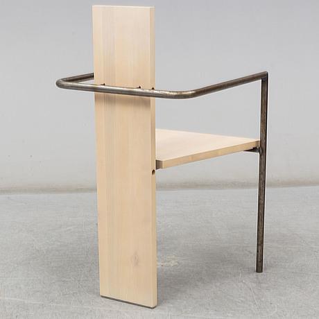 Jonas bohlin, a 'concrete' arm chair, källemo