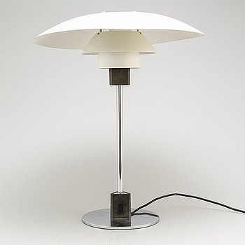 "POUL HENNINGSEN, bordslampa, ""PH-4/3"", Louis Poulsen, Danmark, 1900-talets slut."