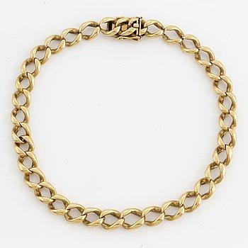 18K gold bracelet, Rey Urban.