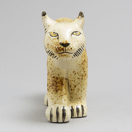 Lisa larson, a stoneware figurine from nordiska kompaniet in co operation with wwf