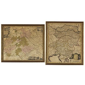 MAPS/ENGRAVINGS, 2, 18th Cenrury.