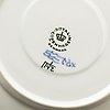 Royal copenhagen, a part 'musselmalet' coffee and dinner porcelain service, denmark (69 pieces).