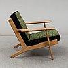 Hans j wegner, a model ge 290 armchair by gedsted, denmark