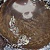Bertil vallien, vaser 2 st samt skulptur, glas, kosta boda, signerad.