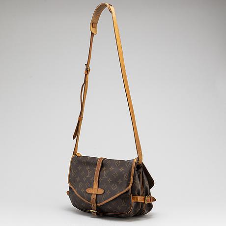 """Louis vuitton, väska, """"saumur 30""""."""