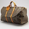 Louis vuitton, a 'keepall 55' weekendbag