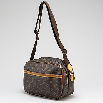 "LOUIS VUITTON, väska, ""Reporter PM""."