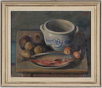 ILMARI AALTO, oil on canvas, signed I. Aalto and dated -30.