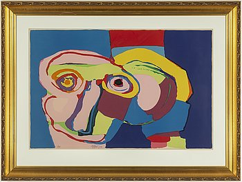 KAREL APPEL, litograph in colours, 1970, signed in pencil and numbered EA.