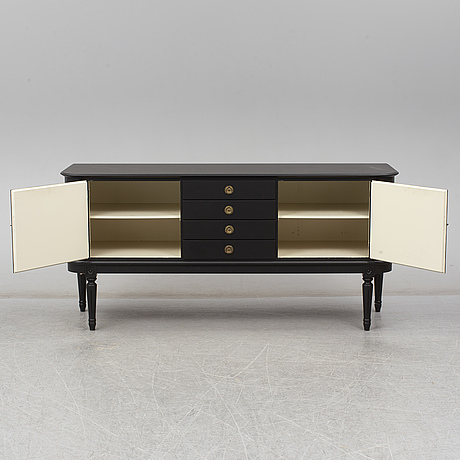 A gustavian style sideboard from the second half of the 20th century