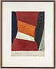 Olle bonniÉr, watercolor on paper, signed and dated 28.5-57.