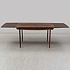 60's rosewood dinner table with four chairs, denmark