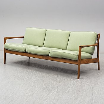 FOLKE OHLSSON, an 'USA-75' teak sofa from Dux.