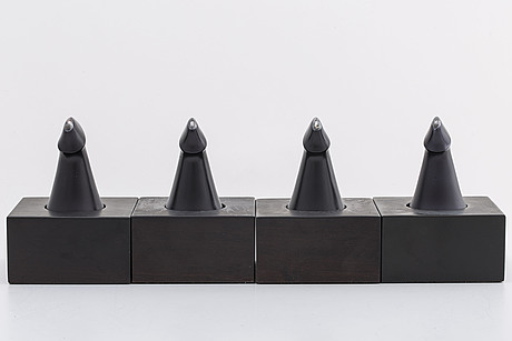 Zoltan popovits, chess figures, sterling silver. lapponia 1978 79
