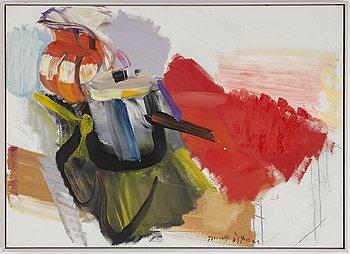 TOMMY ÖSTMAR, oil on canvas, signed.