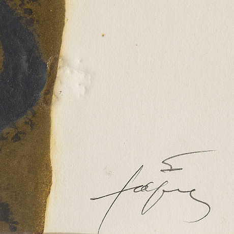 Antoni tàpies, carborondum etching, 1972, signed 48/75.