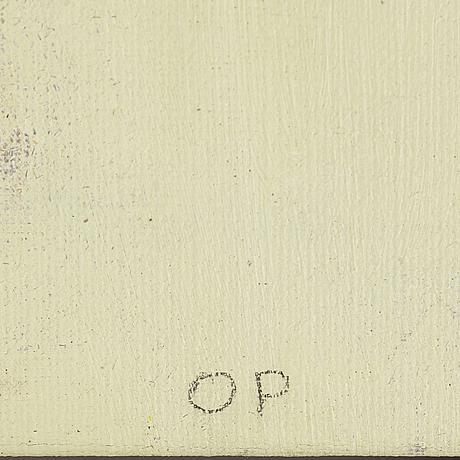 Ola pehrson, oil on canvas, signed.