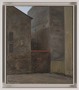 TOMMY HILDING, oil on canvas, signed and dated -81.
