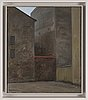 Tommy hilding, oil on canvas, signed and dated  81