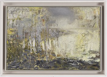 TOMMY HILDING, oil on canvas, signed and dated 1992 on verso.