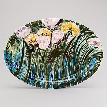 DORRIT VON FIEANDT, FAT, keramik, monogramsignerat, Arabia Finland.