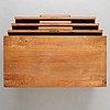 "Axel einar hjorth, a ""sport"" stained pine chest of drawers, nordiska kompaniet, sweden 1930's."