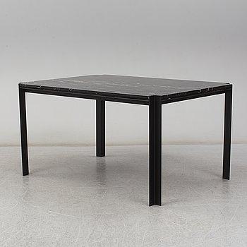 A 'Speakers Corner' dinner table by Pontus Lomar, Steel by Göhlin.