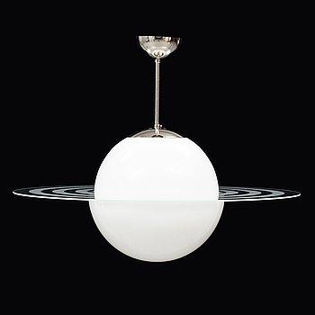 TAKLAMPA, Saturnusmodell, 1900-talets mitt.