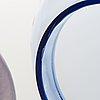 Kerttu nurminen, konstglas, lampi pro arte 1993, signerad k. nurminen, nuutajärvi