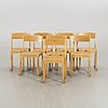 Eight probably sven markelius chairs