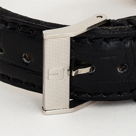 Universal, genève, polerouter date, armbandsur, 35.5 mm