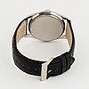 Universal, genève, polerouter date, wristwatch, 35.5 mm