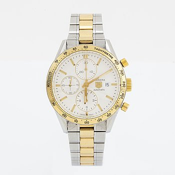 TAG HEUER, Carrera, wristwatch, chronograph, 41 mm.
