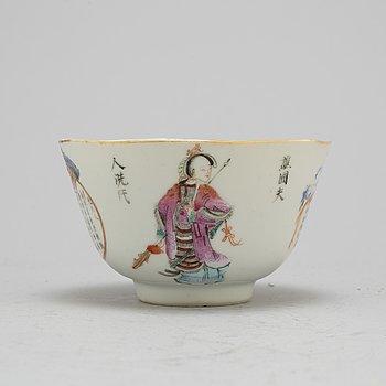 KOPP porslin, med Guangxus  märke. 1900-talets första del.