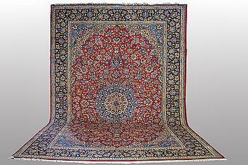 A carpet, Najafabad ca 462 x 338, Signerad Ehsani.