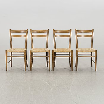 GUNNAR ASPLUND, a set of 10 chairs for Gemla 1930/40's.