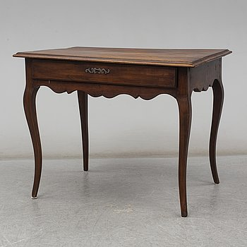 A Rococo-style 19th century writing-table.