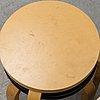 Alvar aalto, matgrupp, 6 delar, artek, 1900 talets slut