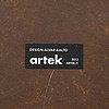 Alvar aalto, two tables and one stool, artek