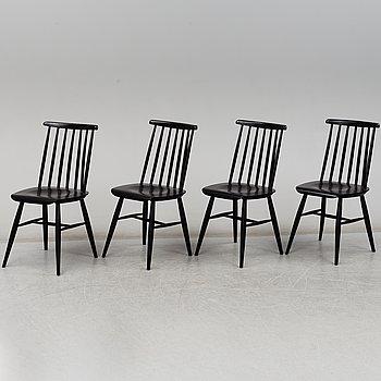 """ILMARI TAPIOVAARA, stolar 4 st, """"Fanett"""", Edsbyverken."""