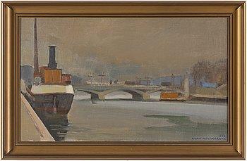 EERO NELIMARKKA, oil on canvas, signed and dated 1950.