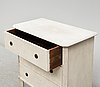 A 20th century gustavian style chest of drawers