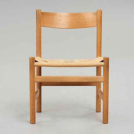 "Hans j wegner, stol, ""cantine chair"", pp møbler, 1980-tal."