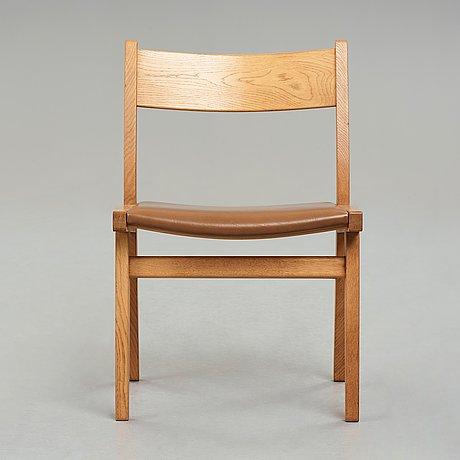 """Hans j wegner, stol,  """"ge376"""", getama, danmark, 1970-tal."""
